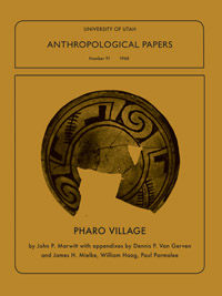 anthropological papers university of utah Bibliography of florence c and robert f lister  lister, florence c  university of utah anthropological papers, no 71.